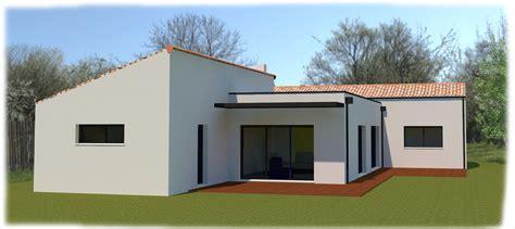 maison plain pied 4 chambres maison semi contemporaine plain pied 4 chambres à venansault agglomération yonnaise réf2166 o