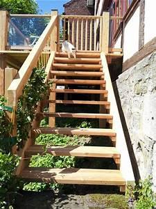 Bodenbeläge Balkon Außen : balkon treppe holz rl93 hitoiro ~ Lizthompson.info Haus und Dekorationen