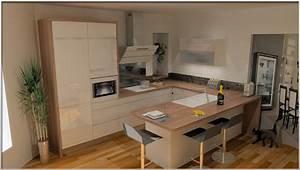 Plan De Cuisine 3d : cuisines venidom visualisez votre cuisine avec nos plans 3d ~ Nature-et-papiers.com Idées de Décoration