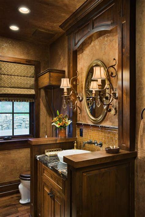 tuscan style bathroom decorating ideas tuscan inspired bathroom design paperblog