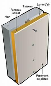 Doublage De Murs Intérieurs : informations isolation mur part 2 ~ Premium-room.com Idées de Décoration