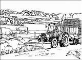 Coloring Farm Pages Farms Tractor Colouring Picgifs Adult Coloringpages1001 Designlooter 484px 13kb sketch template