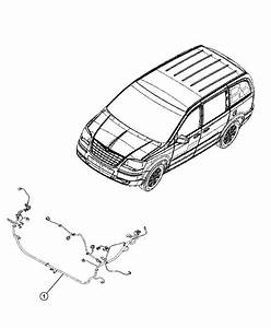 2008 Chrysler Town  U0026 Country Wiring  Abs  Esp Harness