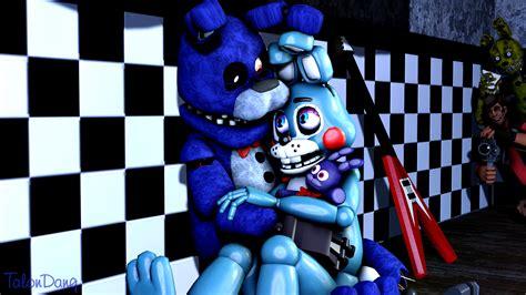 Cuddling-bonnie And Toy Bonnie By Talondang On Deviantart