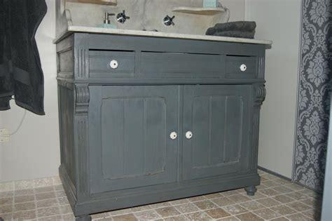 si鑒e de salle de bain mobilier de récupération customisation décoration