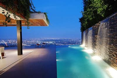 luxury house  stunning view  hollywood hills los