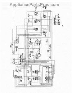 Parts For Thermador Prg366  Wiring Diagram