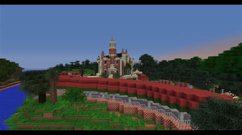 minecraft walt disney world magic kingdom haunted mansion ride youtube
