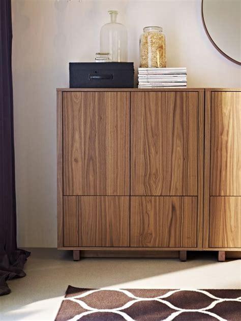 Stockholm Schrank by Stockholm Cabinet With 2 Drawers Walnut Veneer Ikea