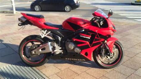 2006 honda cbr 600 for sale honda cbr600rr 2006 red for sale at apexmoto inc youtube