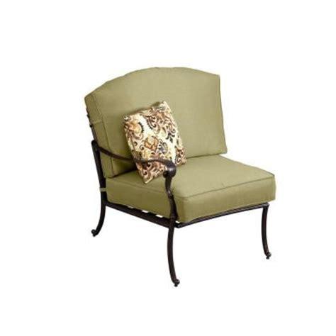 hton bay edington left arm patio sectional chair with