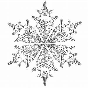 Snowflake Drawing | New Calendar Template Site