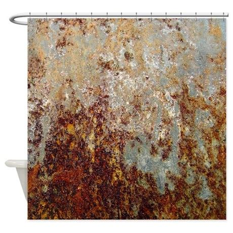 rust shower curtain  thehomeshop