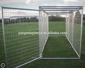 Large dog kennel outdoor fence buy portable dog fence for Outdoor dog fences for large dogs