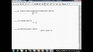 Unit 1 Study Guide Adding And Subtracting Rational Numbers