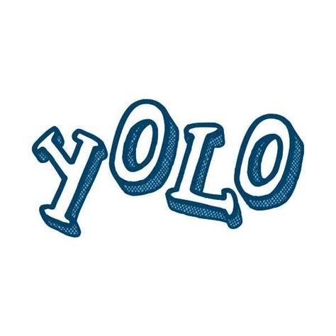 "Along the same lines as the latin carpe diem ('seize the day'), it is a call to live life to its fullest extent, even embracing behavior which carries inherent risk. Temporary Tattoos - ""YOLO"" Manifestation Tattoo"