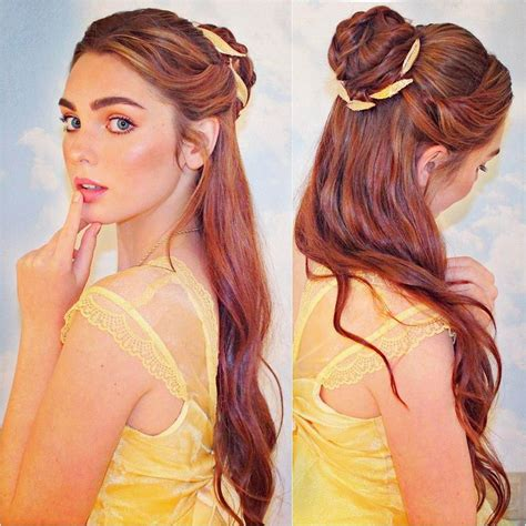 pin  ana  jackie wyers belle hairstyle princess
