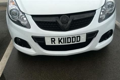 Is This The Most Manc Car Registration Plate Ever