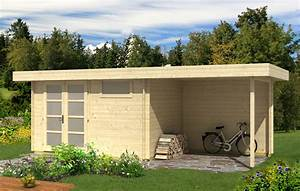 Wochenendhäuser Aus Holz : gartenhaus modern c mit seitendach 122203sd 2 ~ Frokenaadalensverden.com Haus und Dekorationen