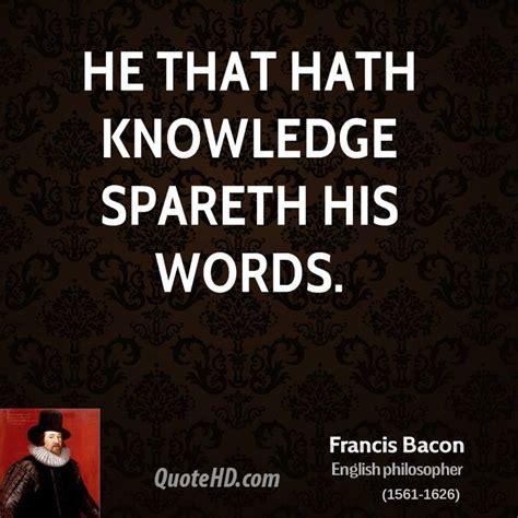 Francis Bacon Quotes Francis Bacon Quotes Quotesgram