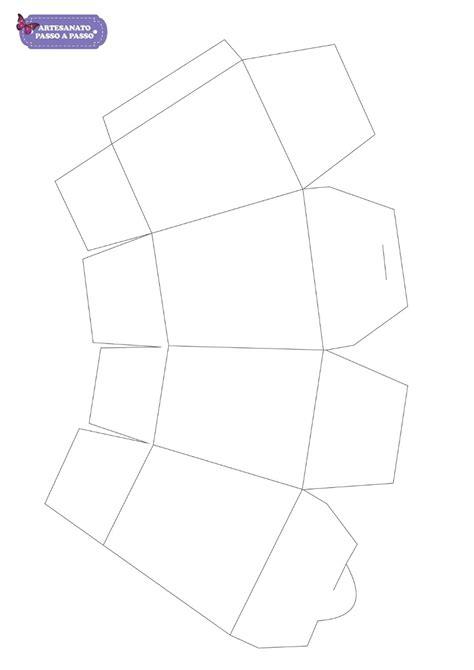 molde de caixa de papel para imprimir v 225 rios artesanato passo a passo