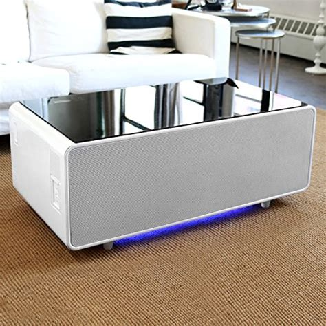 If not, then click on through to learn all about the stylish coffee table with unique and useful features, including bluetooth speakers, a large refrigerator drawer, multiple electrical outlets, and led lighting. Sobro Smart Coffee Table with Fridge, USB and Speakers | Entertaining Finds