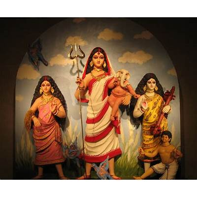 Durga puja at Rupchand mukherjee lane