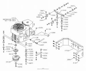 Dixon Ram 44  2006  Parts Diagram For Engine  Kohler