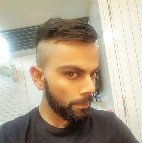 virat kohli flaunts  hairstyle    zealand