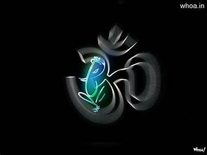 Om With Lord Ganesha HD Wallpaper Just Whoa