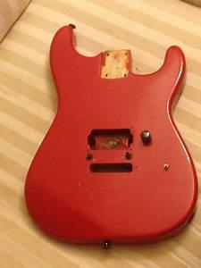 Charvel Model 2 Guitar Body Fort Worth Floyd Rose Red