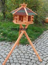 vogelfutterhaus mit ständer vogelh 228 user ebay