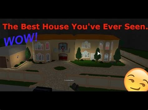 Roblox  Welcome To Bloxburg!  Best Looking House Ever