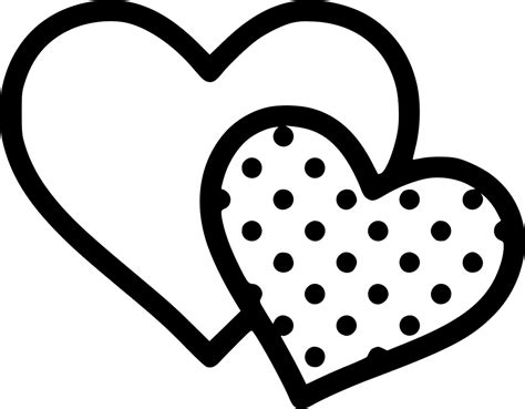 Find & download free graphic resources for heart svg. Two Hearts Svg Png Icon Free Download (#432734 ...