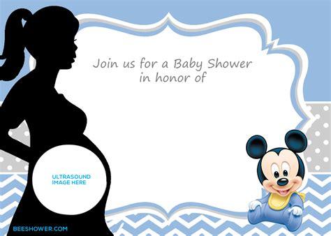 mickey mouse st birthday invitations bagvania