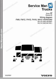 Volvo Fm9 Fm12 Fh12 Fh16 Nh12 Wiring Diagram Manual