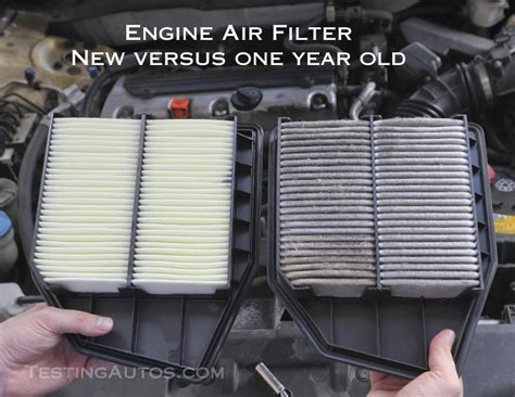 engine air filter  changed