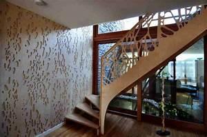 Deco Mur Interieur Moderne : decoration mur escalier interieur ~ Teatrodelosmanantiales.com Idées de Décoration