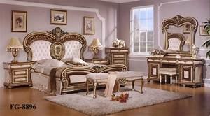 Meuble De Chambre : meubles europ ens d 39 ensemble de chambre coucher de mod le fg 8896 meubles europ ens d ~ Teatrodelosmanantiales.com Idées de Décoration