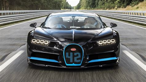 The chiron is the fastest, most powerful, and exclusive production super sports car in bugatti's history. Watch the Bugatti Chiron go from 0-249mph-0 | Top Gear