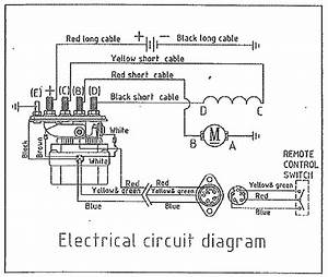 4 Best Images Of Remote Control Winch Wiring Diagram
