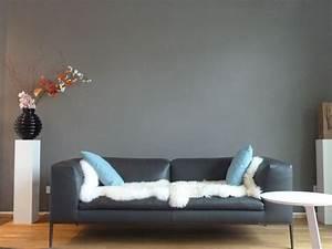 Schöner Wohnen Wandfarbe Grau : ich hab die wand grau gestrichen wohnideen pinterest wandfarbe sch ner wohnen und wohnen ~ Bigdaddyawards.com Haus und Dekorationen