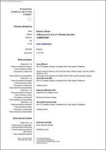 Best Resume Sles Word Format by Cv Template Format 28 Images Proper Resume Format Ingyenoltoztetosjatekok Cv Format Cv