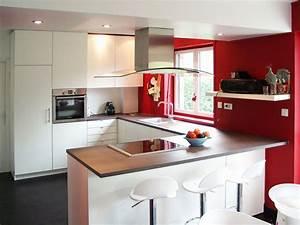 Cuisine Avec Ilot : modele de cuisine avec ilot central ~ Melissatoandfro.com Idées de Décoration