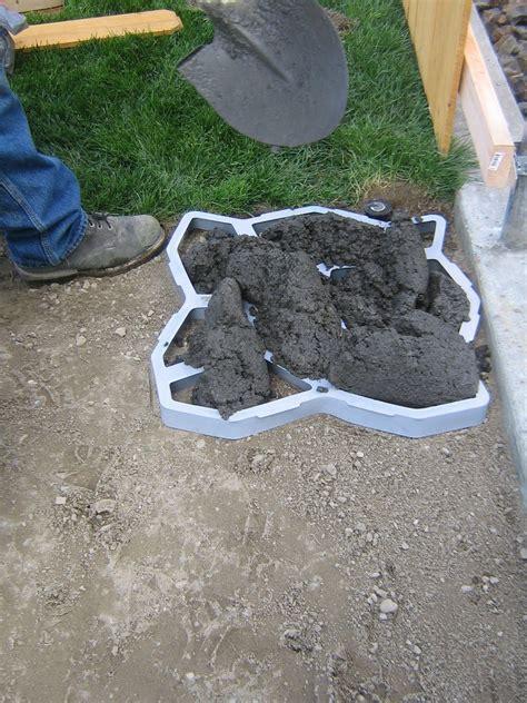 diy cobble stone path  owner builder network