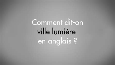 comment dit on ville lumi 232 re en anglais light zoom lumi 232 re