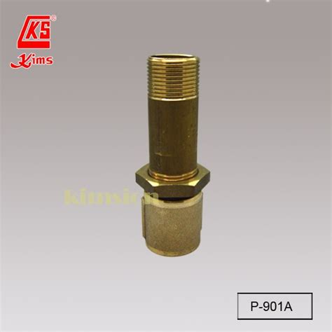 p     brass longscrew nipple