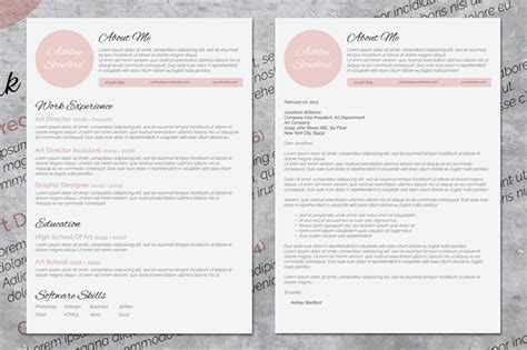 Pretty Resume Templates by 10 Creative Word Resumes 10 Matching Cover Letters