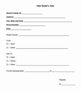 free download share With fake dr note templates