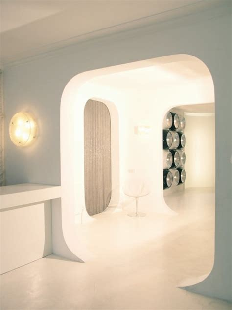 Futuristic Interior That Gives Some Ideas For Decorating